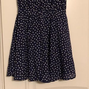 Heritage 1981 Dresses - Navy/Polka Dot dress